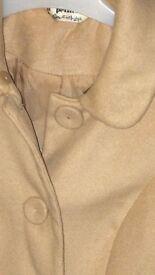 ladies size 6 petite, miss selfridges gorgeous coat
