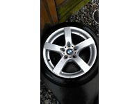 """17"""" BMW ALLOYS OPEN TO OFFERS"""
