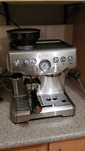 Breville The Barista Espresso Coffee Machine Bentley Canning Area Preview