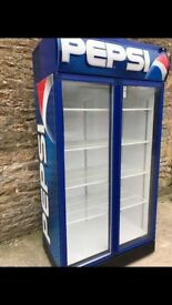 PEPSI DRINKS FRIDGE 2 DOOR