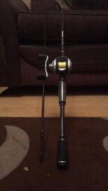 abu garcia silvermax baitcasting rod and reel combo