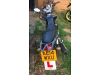 Zontes Panther 125cc black with alarm