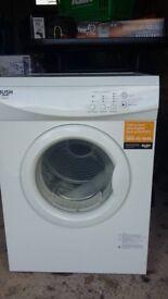 Bush V6SDW Tumble Dryer - White. hardly used