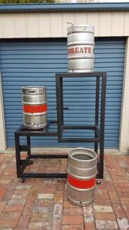 Half completed all grain beer brewing set up