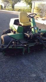 John Deere lawnmower