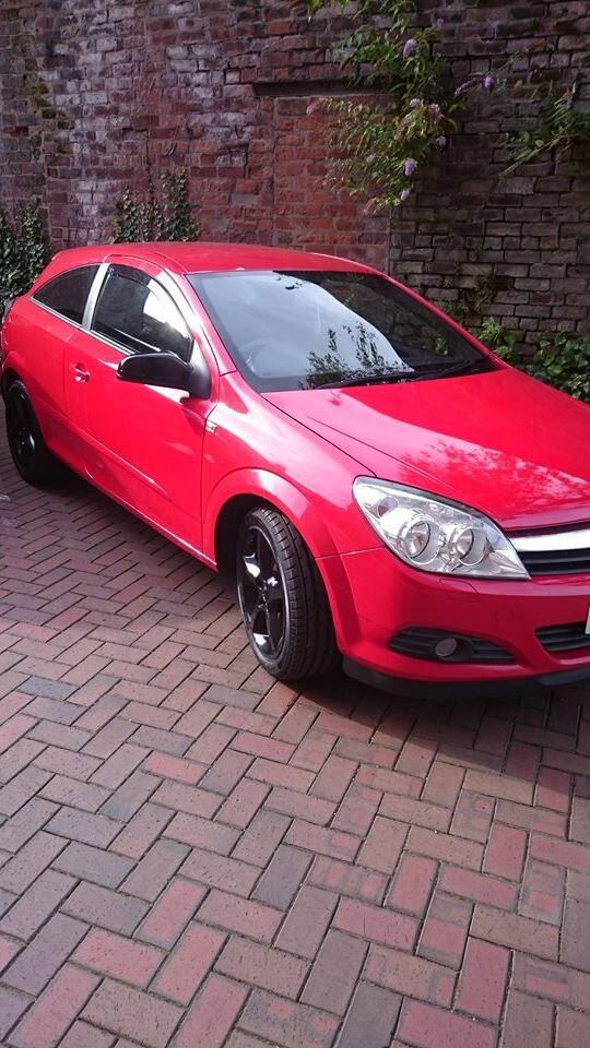 Vauxhall Astra H(MK5) SRI 1.9 CDTI, 150 HP, Sport 6 speed + sport seats and black headlights