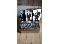 James Bond DVD metal tin set and recent films