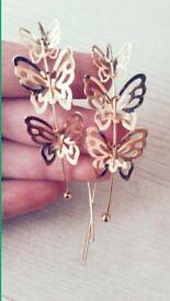 Beautiful gold earrings HOT OFFER