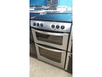 b706 stainless steel newworld 60cm double oven ceramic electric cooker comes with warranty