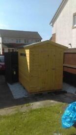 7ft x 5ft Garden Shed