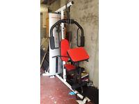 weights bench multi gym