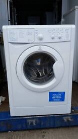 6kg 'Indesit' Washing Machine - Good condition / Free local delivery and fitting