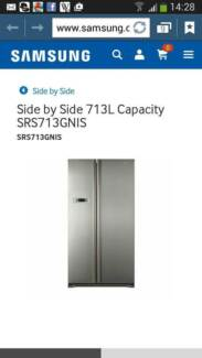 Samsung Inox 713l Side by side Fridge/Freezer for Sale Avenell Heights Bundaberg City Preview