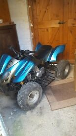 110cc quad runs and rides