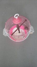 2 birds and small cage brand new £25.00 can deliver anytime