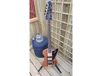 Epiphone T-Bird natural oil active Bass guitar............ AS NEW condition !
