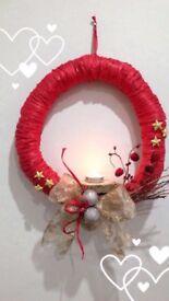 Handmade Christmas Wreaths