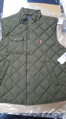 NEW Polo Ralph Lauren Quilted Vest Boys - Size M (10-12)
