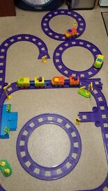 ELC train set with tracks and trains