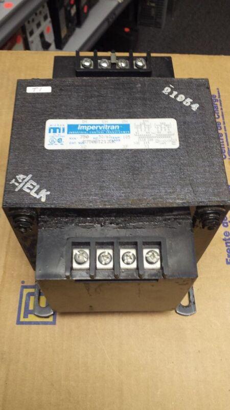 IMPERVITRAN B750BTZ13JK CONTROL TRANSFORMER 750VA   B49