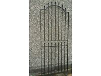 Black Security Gate