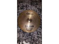 "Sabian Hand Hammered Thin Crash Cymbal 16"""