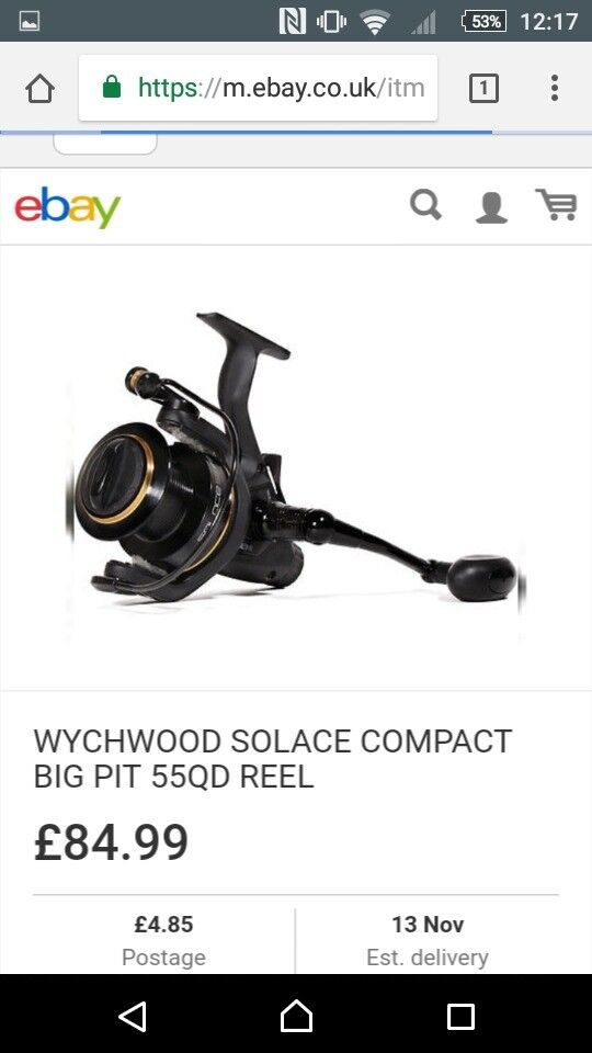 2 x Wychwood QD 55 compact big pits brand new