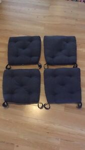 Chair pads x4 Tweed Heads South Tweed Heads Area Preview
