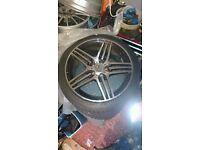 Mercedes AMG wheels and Falken tyres