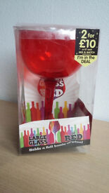 Glass that will hold a full bottle of wine - great wee xmas or birthday gift