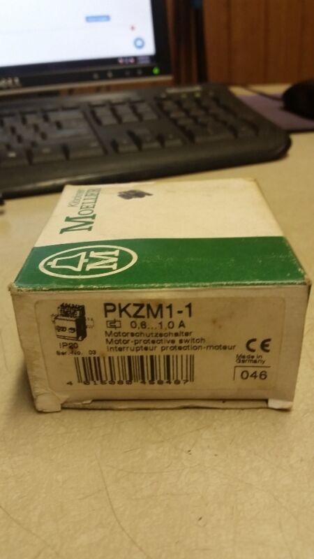 KLOCKNER-MOELLER PKZM1-1 MOTOR-PROTECTIVE SWITCH *NEW IN A BOX*