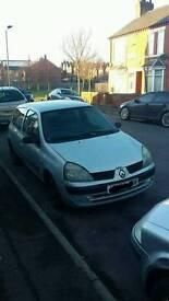 Renault clio 1.5 dci 2004 177.000 miles