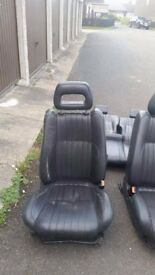 primera gt seats out of mystic. slight wear on driver seat. good condition.