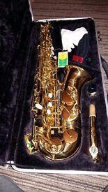 J. Michaels al780 saxophone as new.