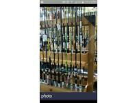 Fishing rods joblot carp fishing tackle shop clearance vintage fishing reels
