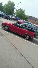 1987 ltd Mk1 golf cabriolet