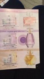 new avon perfume set