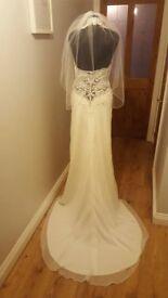 Unworn Alexia designs Wedding dress for sale Size 12