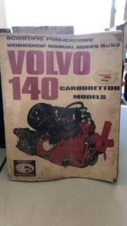 VOLVO 140 CARBURETTOR MODELS WORKSHOP MANUAL Morisset Lake Macquarie Area Preview