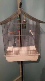 Birds Budgie Cage with stand