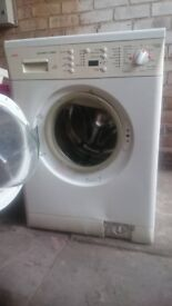 Washing machine with dryer, washer dryer AEG