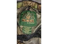 Mad Dog Camo Trousers waterproof and very warm