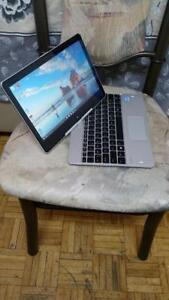 Touch Screen Intel i7 Core HP EliteBook Revolve 8 gb Ram 256gb SSD Solid State intel HD Graphics Tablet Laptop $350 only