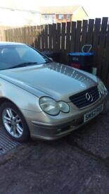 Merc C220 Coupe