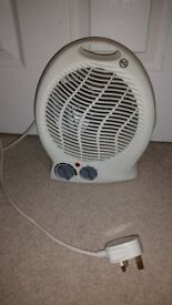 fan heater, white