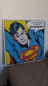Superman Canvas Art Mooloolaba Maroochydore Area Preview