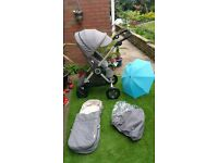 Stokke Scoot V2 with stokke accessoires perfect condition