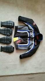 Child's motorcycle jacket
