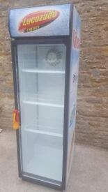 SINGLE DOOR LUCOZADE FRIDGE