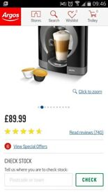 NESCAFE Manual Coffee Machine - Black (Argos 89.99)